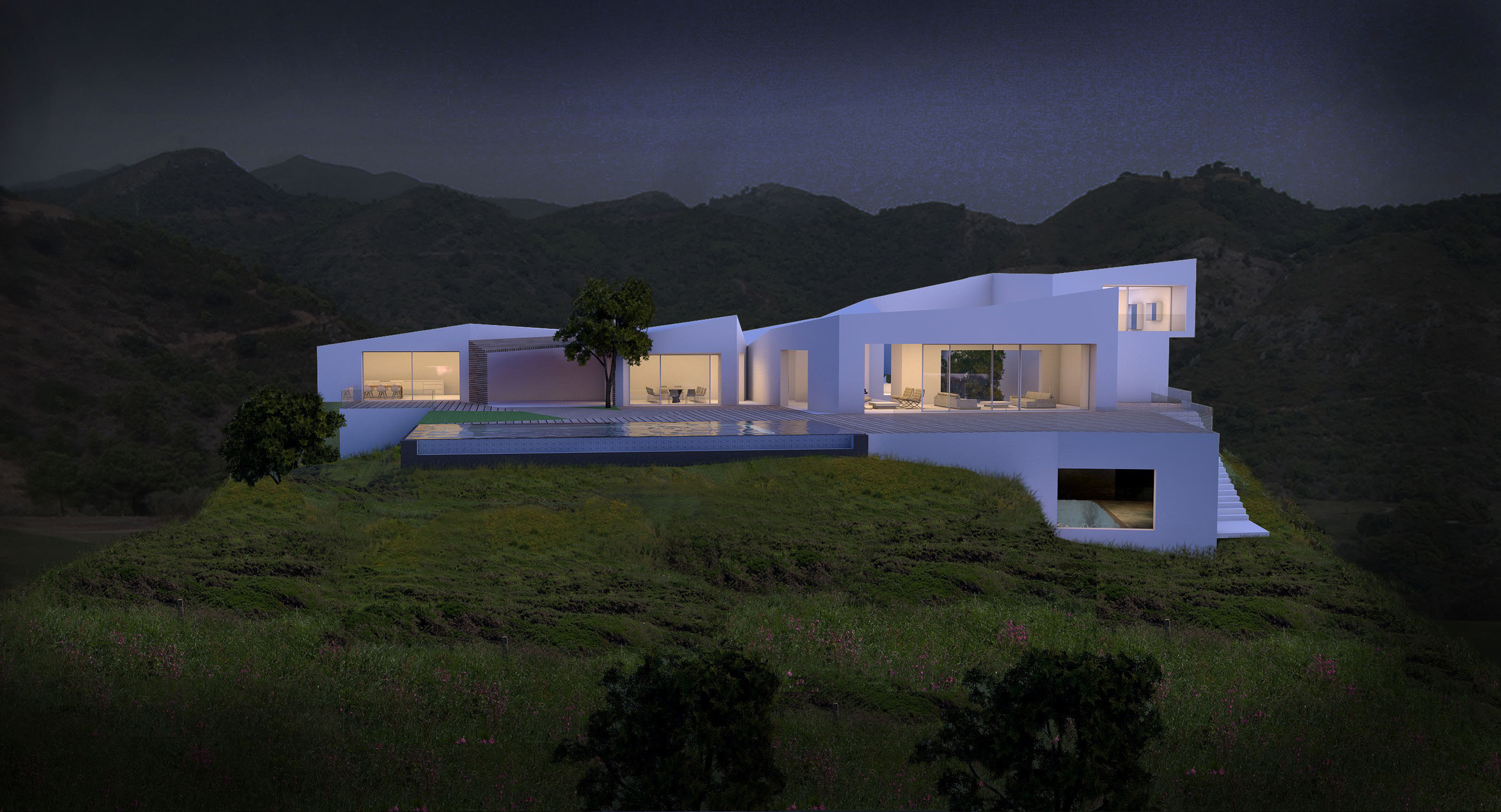Mountain Top House Images